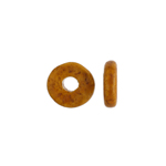 CERAMIC BEADS WASHER 8x2.5mm OCHRE image