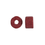 CERAMIC BEAD CYLINDER 8x5mm ROSEWOOD image