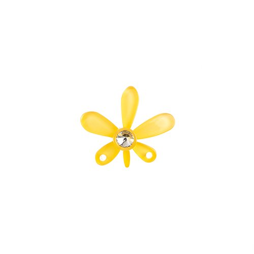 Trop Punch Flower Link 43mm Orchid Kinjin 1pc image