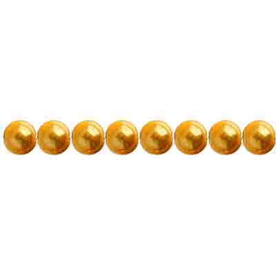 Miracle Bead Round 4mm Transparent Gold image