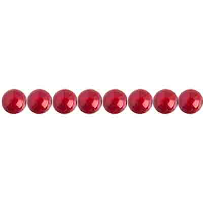 Miracle Bead Round 4mm Transparent Spanish Red image