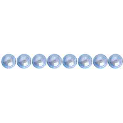 Miracle Bead Round 4mm Transparent Icy Blue image