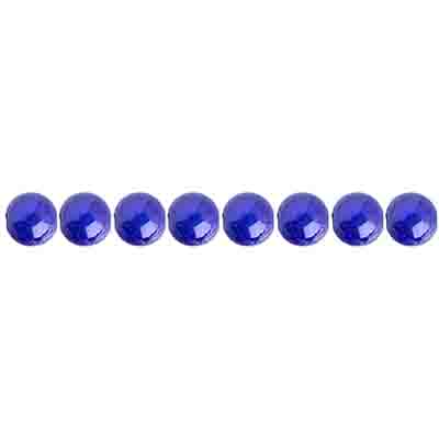 Miracle Bead Round 4mm Transparent Peacock Blue image