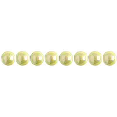 Miracle Bead Round 4mm Transparent Mermaid Green image