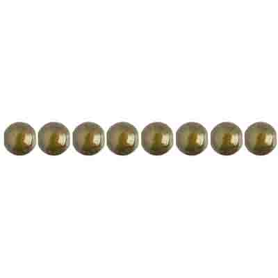 Miracle Bead Round 4mm Transparent Olivine image