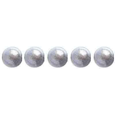 Miracle Bead Round 6mm Transparent Silver image