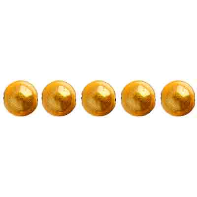 Miracle Bead Round 6mm Transparent Gold image