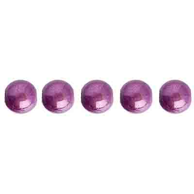 Miracle Bead Round 6mm Transparent Mauve image