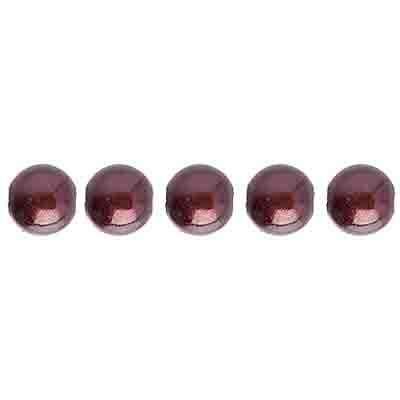 Miracle Bead Round 6mm Transparent Coffee image