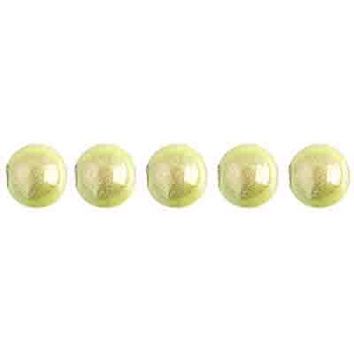Miracle Bead Round 6mm Transparent Mermaid Green image