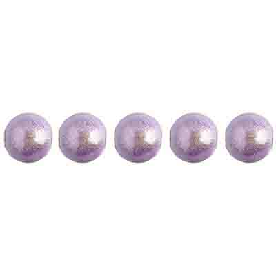 Miracle Bead Round 6mm Transparent Lavender image