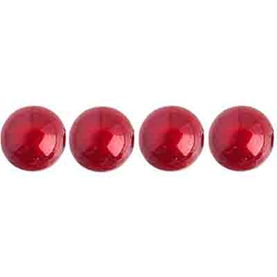 Miracle Bead Round 8mm Transparent Spanish Red image