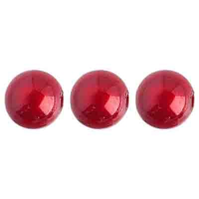 Miracle Bead Round 10mm Transparent Spanish Red image