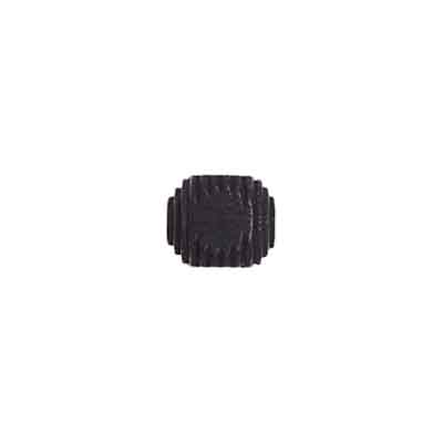 WOOD BEAD CUBE 9mm 2.7mm HOLE BLACK image