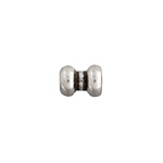 METAL BEAD 8x10.5x3.2mm ANTIQUE SILVER image