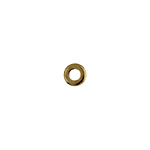 METAL WASHER 6x1.2x2.8mm ANTIQUE BRASS N/FREE image