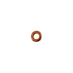 METAL WASHER 6x1.2x2.8mm ANTIQUE COPPER image