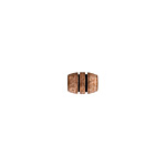 METAL BARREL 5x7.4x2.6mm ANTIQUE COPPER LF/NF image