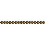 METAL BEAD ROUND 2mm ANTIQUE GOLD LF/NF image