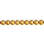 METAL BEAD ROUND 4mm GOLD LF/NF image