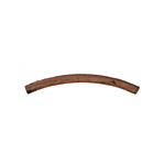 METAL CURVE TUBE 25x1.5mm ANTIQUE COPPER image