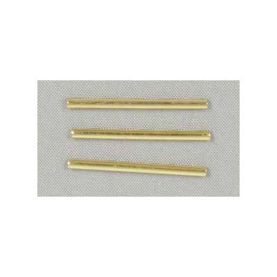 METAL TUBE STRAIGHT 20x1.5mm GOLD image