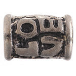 METAL LOVE BEAD 13x20mm ANTIQUE SILVER L/F N/F image