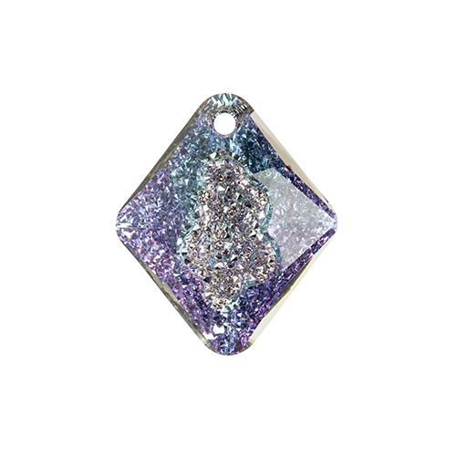 Swarovski Pendant 6926 Rhombus 26mm Crystal Light Vitrail P 1pc image