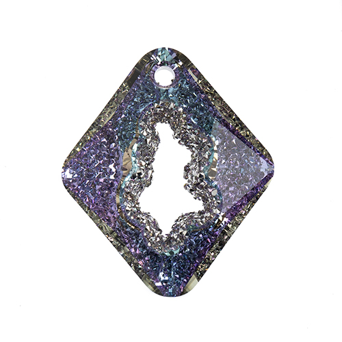 Swarovski Pendant 6926 Rhombus 36mm Crystal Light Vitrail P 8pcs image