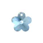 Preciosa MC Pendant 52-302 Flower 14mm Lagoon 72pcs image