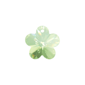 Preciosa MC Pendant 52-302 Flower 14mm Viridian 6pcs image