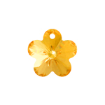 Preciosa MC Pendant 52-302 Flower 14mm Blond Flare 6pcs image