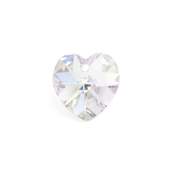 Preciosa MC Pendant 68-615 Heart 14mm Crystal AB 12pcs image