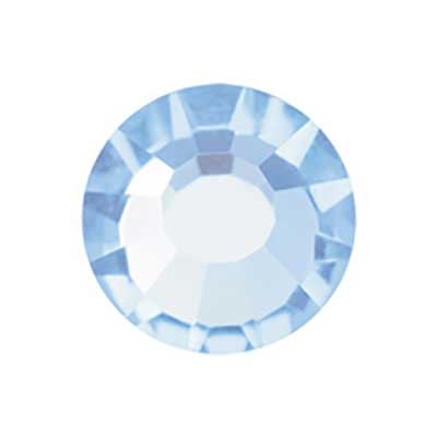 Preciosa VIVA 12 Crystal Flatback Hot Fix ss6 1440pcs Aquamarine image