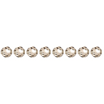 Preciosa MC Bead Reg.Cut 19-602 Round 4mm  Crystal Vevet 40pcs image