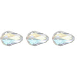 Preciosa MC Bead 55-001 Pear 10.5x7mm Crystal AB 36pcs image