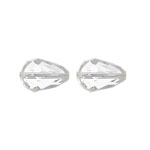Preciosa MC Bead 55-001 Pear 12x8mm Crystal 144pcs image