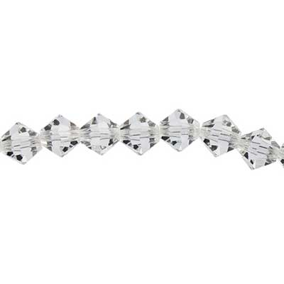 Preciosa 5in Strand Rondell 15pcs 8mm Crystal image