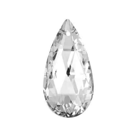 Preciosa Drop Almond 2662 38x19mm Crystal image