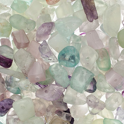 JB Square Vial Apx.32g Chips Flourite Mix image