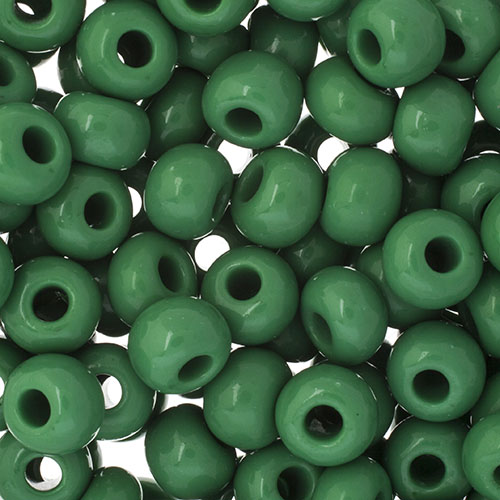 JB Square Vial 32/0 Apx 19g Opaque Medium Green image