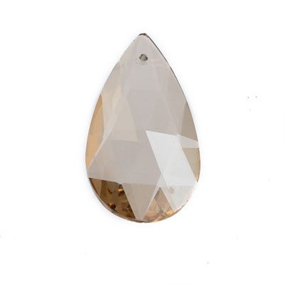Preciosa Drop Almond 2662 38x19mm Honey image
