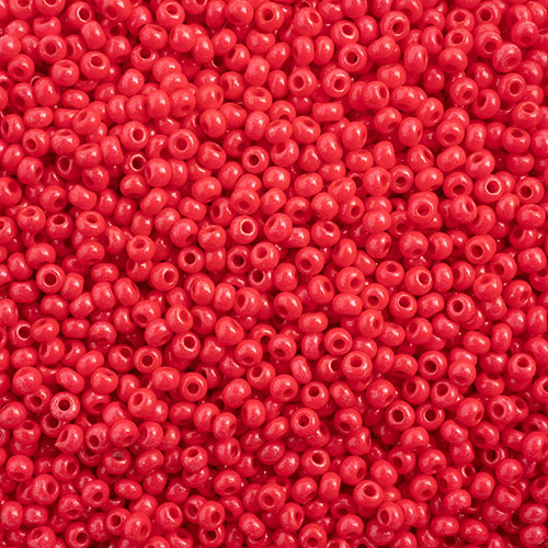 Czech Seed Beads 10/0 Terra Intensive Red image