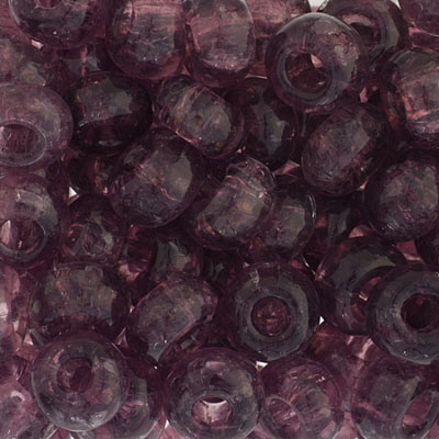 1/0 Crackled Rocaille 6.6mm Transparent Amethyst image
