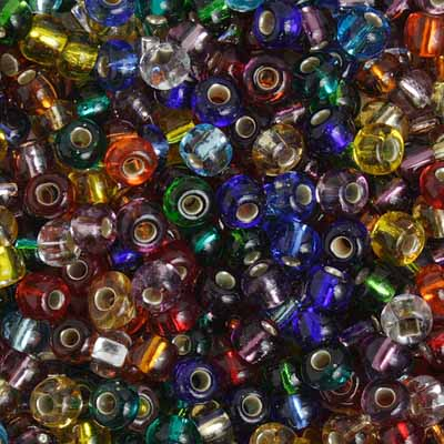 Czech Seed Beads 3/0 S/L Multi Mix image