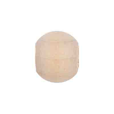 WOODEN BEADS ROUND 16mm RAW image