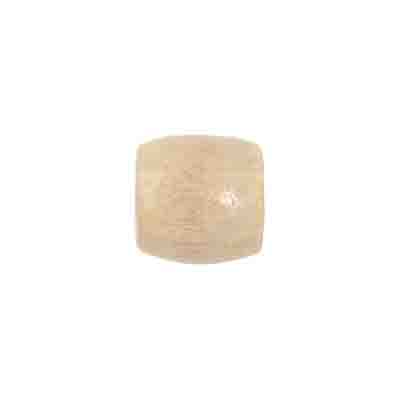 WOODEN BEADS OVAL 12x12MM NATURAL image