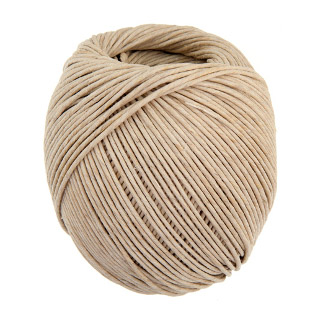 Hemp 100% Natural 2.5mm 80lb 200.2ft 200gm Natural image