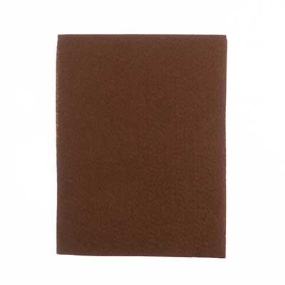 GoodFelt Beading Foundation 1.5mm 8.5x11in 4pcs Brown image