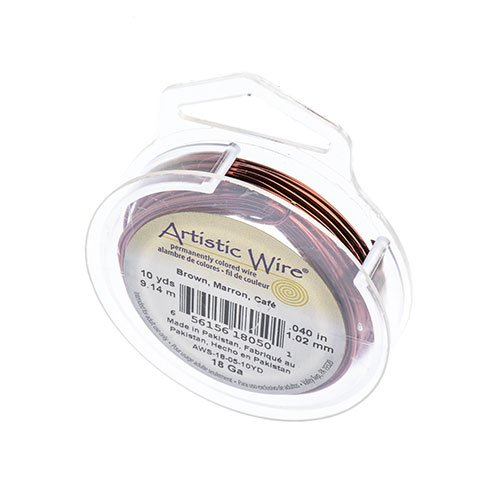 ART WIRE 18G Lead/Nickel SAFE BROWN image